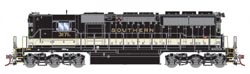 Athearn HO SD40 Southern B/W #3174A, DUE 1/30/2019, LIST PRICE $139.98