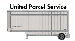 Athearn HO 28ft Drop Sill Parcel Trlr UPS UPS no sheild #299621, LIST PRICE $29.98