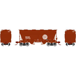 Athearn HO ACF 2970 Cvrd Hpr BNSF #406200, DUE 12/30/2020, LIST PRICE $44.98