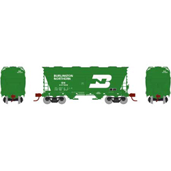 Athearn HO ACF 2970 Cvrd Hpr BN #437359, DUE 12/30/2020, LIST PRICE $44.98