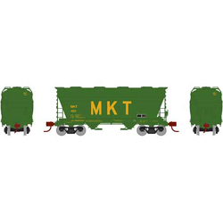 Athearn HO ACF 2970 Cvrd Hpr MKT #451, DUE 12/30/2020, LIST PRICE $44.98