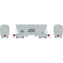 Athearn HO ACF 2970 Cvrd Hpr UP #219687, DUE 12/30/2020, LIST PRICE $44.98