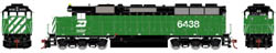 Athearn HO RTR SD45, BN #6438, LIST PRICE $134.98