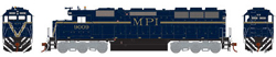 Athearn HO RTR SD45, MPI #9009, LIST PRICE $134.98