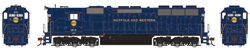 Athearn HO RTR SD45, N&W/Blue #1813, LIST PRICE $134.98