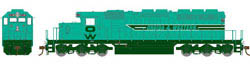 "Athearn HO RTR SD40-2 w/88"" Nose, O&W #9953, LIST PRICE $134.98"