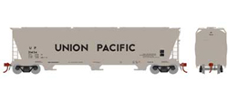 Athearn Genesis HO ACF 4600 3bay CF Hpr UP 21424, LIST PRICE $49.98