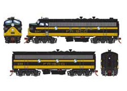 Athearn Genesis HO EMD FP7 A/ F7B Frisco #5047 5133, DUE 1/30/2021, LIST PRICE $459.98