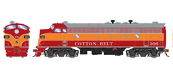 Athearn Genesis HO EMD FP7 A Cotton Belt #306, DUE 1/30/2021, LIST PRICE $239.98