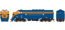 Athearn Genesis HO F3A w/DCC & Sound, CNJ/Freight #52, DUE 3/20/2019, LIST PRICE $279.98