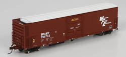 Athearn Genesis HO 57' Mechanical Reefer BNSF/WFE #799767, LIST PRICE $44.98