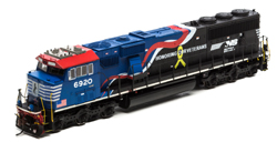 Athearn Genesis HO SD60E NS Honoring Our Veterans #6920, LIST PRICE $249.98
