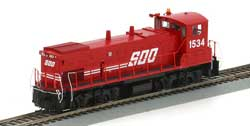 Athearn Genesis HO MP15AC, w/DCC & Sound, SOO #1534, LIST PRICE $269.98