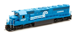 Athearn Genesis HO SD45-2 Conrail early #6657, DUE 1/30/2020, LIST PRICE $209.98