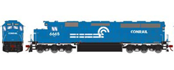 Athearn Genesis HO SD45-2 Conrail early #6665, DUE 1/30/2020, LIST PRICE $209.98