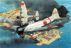"""Cyber Hobby Model 1/72 Aichi Type 99 """"Val"""" Dive-Bomber, LIST PRICE $42.79"""