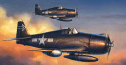 Cyber Hobby Model 1/72 F6F-5N Night Version, Win, LIST PRICE $36