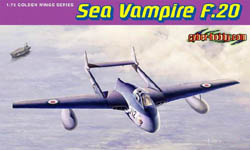 Cyber Hobby Model Sea Vampire F.20 1:72, LIST PRICE $31.6