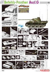 Cyber Hobby Model BEFEHLS PANTHER Ausf.G 1:35 , LIST PRICE $51.34
