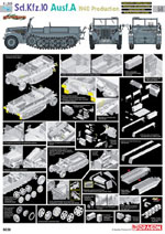 Cyber Hobby Model Sd.Kfz.10 Ausf.A 1940 #68 1:35, LIST PRICE $65.95