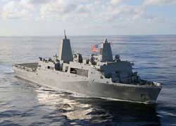 Cyber Hobby Model USS SAN ANTONIO LPD-17 1:700, LIST PRICE $48.5