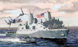 Cyber Hobby Model 1/700 USS New York LPD-21 Amphibious Vessel, LIST PRICE $48