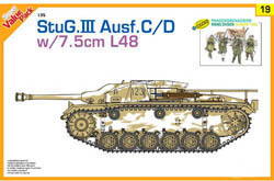 Cyber Hobby Model StuG.III Ausf.C/D 1:35        , LIST PRICE $36.69