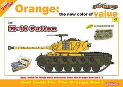 Cyber Hobby Model M-46 PATTON & FIGS 1:35, LIST PRICE $59.25