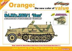 Cyber Hobby Model Sd.Kfz.250/1 NEU APC 1:35, LIST PRICE $36.49