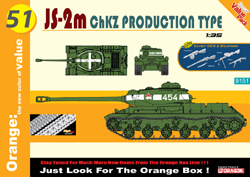 Cyber Hobby Model Js-2m ChZk Production Type :35, LIST PRICE $51.75