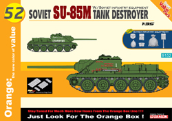 Cyber Hobby Model Soviet Su-85M Tank Destroyer, LIST PRICE $51.75
