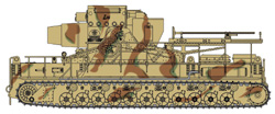 Cyber Hobby Model GER S-HEAVY SP MORTAR 60cm :35, LIST PRICE $102.95