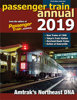 White River Productions Passenger Train Annual 2019 Softcover, LIST PRICE $24.95