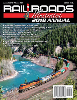 White River Productions 2018 Railroads Illustrated Annual, LIST PRICE $24.95