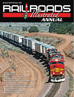 White River Productions 2015 RRs Illustrated Annual Softcover, LIST PRICE $24.95