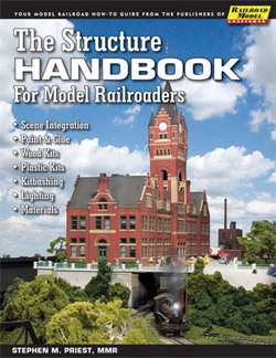 White River Productions Structure Handbook for Model RRers, LIST PRICE $24.95