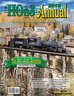 White River Productions 2015 HOn3 Annual Softcover, LIST PRICE $19.95