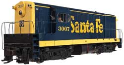Atlas HO H16-44 Santa Fe #3013, LIST PRICE $159.95