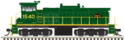Atlas HO MP15DC dcc/snd Reading & Northern 1540, DUE 6/30/2018, LIST PRICE $279.95