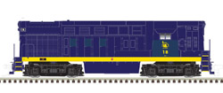 Atlas HO H15/16-44 Jersey Central 18 (Blue/Yellow) (H16-44) , DUE 3/30/2020, LIST PRICE $169.95
