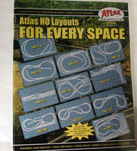 Atlas HO LAYOUTS FOR EVERY SPACE, LIST PRICE $9.75