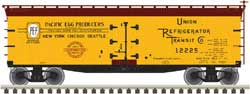 Atlas HO 40' Wood Reefer Pacific Cooperative #12242, LIST PRICE $39.95