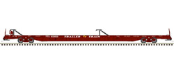 Atlas HO F89J 89ft Flat w/2 Hitches TT 601283 Brown, DUE 12/30/2020, LIST PRICE $56.95