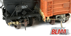 Atlas N Modern Freight Passenger Car Cplr Cut Levers Etched, LIST PRICE $11.5