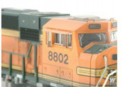 Atlas N Modern Loco Cab Rear-View Mirrors 4 Ea Stnd Small Styl, DUE 11/7/9999, LIST PRICE $3.75