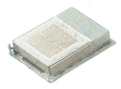 Atlas N Vapor Loco Cab Rooftop Air Conditioner Etched-Metal Kit, DUE 11/8/9999, LIST PRICE $3.75