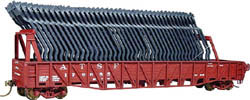 Am Model Buiild HO Auto frame rack TTG wr gn, LIST PRICE $19.95