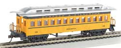 Bachmann HO 1880 Coach D&S 270, LIST PRICE $32