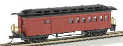 Bachmann HO 1860-1880 Combine, Red, LIST PRICE $32
