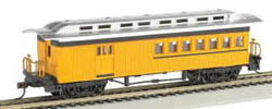 Bachmann HO 1860-1880 Combine, Yello, LIST PRICE $32